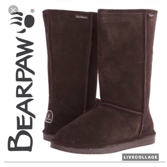 7b3a075d6 BearPaw Shoes   Womens Elle Tall Water Resistant Boot   Poshmark